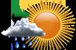 Chuva à Tarde - Sol pela manhã com aumento gradativo de nebulosidade ao longo do dia e chuvas a partir da tarde.