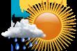 Possibilidade de Chuva à Tarde - Variação de nuvens pela manhã com chance pequena de chuva a partir da tarde.