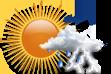 Pancadas de Chuva pela Manhã - Variação de nuvens com pancadas de chuva localizadas que poderão ser fortes e vir acompanhadas de trovoadas de manhã.