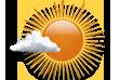 Predomínio de Sol - Céu claro com poucas nuvens.